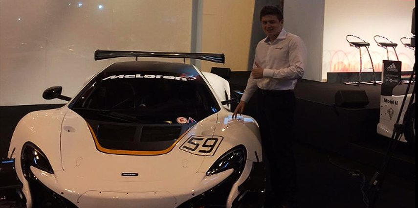 McClaren GT Announces Andrew Watson in Young Driver Programme